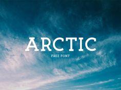 Arctic Free Font Slab serif typeface