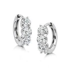 Cool off from the summer heat with Ikuma Canadian diamond hoop earrings! www.benbridge.com/shop/Ikuma-Canadian-Diamond-Hoop-Earrings-14K.html