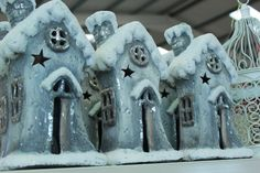 Snowy House Tealight Holder Great Christmas Gifts, Great Gifts, Tea Light Holder, Tea Lights, Deck, Gift Ideas, Make It Yourself, House, Home