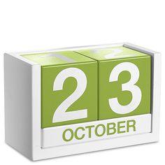 ThreeSixFive Desk Calendar - Levenger