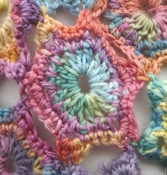 love the colors - sz crochet scarf