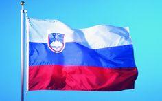 Flag of Slovenia wallpaper
