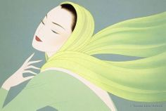 """Spring Breeze""...by Ichiro Tsuruta"