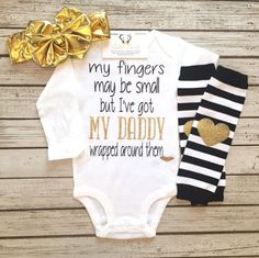 ab14142a8 Daddy s Other Chick Baby Girl Outfit