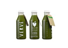 Brand identity and packaging feel desain Verve Juices 09