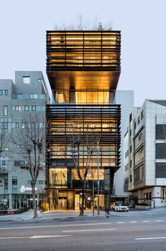 Juno Academy by SKM Architects / 710 Samseong-ro, Gangnam-gu, Seoul, South Korea