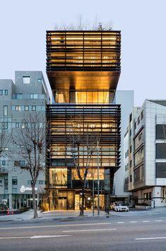 Juno Academy by SKM Architects / 710 Samseong-ro, Gangnam-gu, Seoul, South Korea