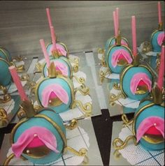 doces decorados cinderela - Pesquisa Google
