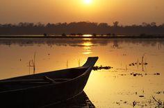 Barco, Pôr Do Sol, Natureza