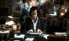 """Nick Cave writing lyrics in the forthcoming """"fictiomentary"""" 20,000 Days On Earth."""