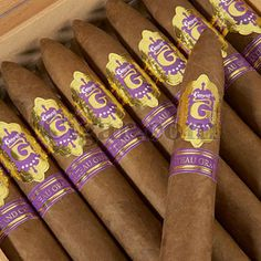 Graycliff Grand Chateau Cru Solomon - The best size in this flavor, and with a few years of aging this cigar tastes like you're smoking gold. One of GregGreg's favorite brands.