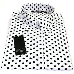 Relco Mens White Polka Dot Button Down Long Sleeved Shirt Mod Skin Retro in Clothes, Shoes & Accessories, Men's Clothing, Casual Shirts & Tops Polka Dot Shirt, Polka Dots, Mod Fashion, Suit And Tie, Well Dressed Men, Casual Shirts, Button Up Shirts, Long Sleeve Shirts, Buttons