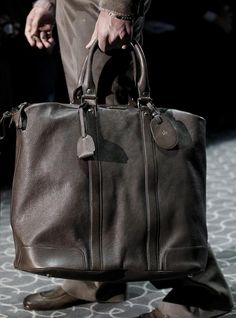 Men's Bags, Gucci Fall 2011