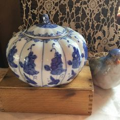 A personal favorite from my Etsy shop https://www.etsy.com/listing/542227697/vintage-chinese-blue-and-white-small