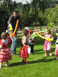 balloon swords, I actually know how to make these