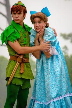Peter Pan & Wendy at Disney World Disney Dream, Disney Love, Disney Magic, Disney Stuff, Disney And Dreamworks, Disney Pixar, Disney Parks, Walt Disney World, Disney Peter Pan