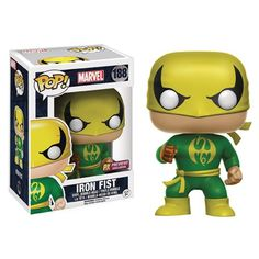 Marvel Iron Fist Pop! Vinyl Figure - Previews Exclusive