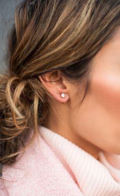 pretty little stud earrings