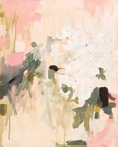Image of Petal Study 1 stretched canvas...Pencilbox Shop, Katie Stratton