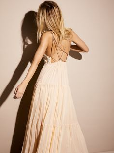 Endless Summer Leaf Green Combo Mixin' It Up Maxi Dress at Free People Clothing Boutique