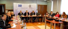 Working group session, the National Convent on European Integration of Montenegro, November 2012 © SFPA