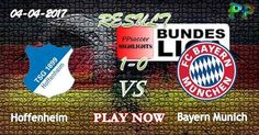 Hoffenheim 1 - 0 Bayern Munich HIGHLIGHTS 04.04.2017 | PPsoccer