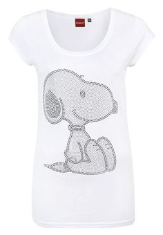 Sublevel SNOOPY Strass Shirt