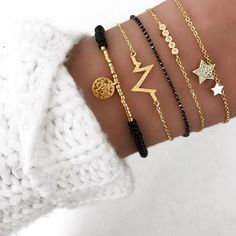 bracelet fantaisie tendance hiver jewelry accessories from our store and get up to off. You will not find this rare jewelries in any other store, so grab this Limited Time Discount Now! Cute Jewelry, Silver Jewelry, Women Jewelry, Leather Jewelry, Jewelry Shop, Diamond Jewelry, Beaded Jewelry, Diamond Earrings, Cheap Jewelry