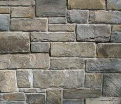 Great Ideas for Interior Decorating with Stone Veneer Natural Stone Veneer, Natural Stones, Decorating Blogs, Interior Decorating, Stone Facade, Facade House, House Facades, Exterior Remodel, House Plans