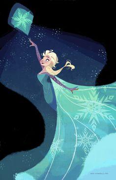 Elsa reprecenta el espiritu libre