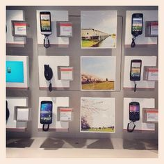 Just wanted to show; @seemycity'd pictures displayed in Vodafone mobile phone shop #almerebuiten #almere Looks good @jrrrn:)