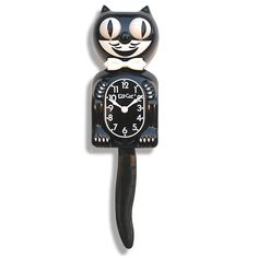 The charming Kit Cat Clock was invented in 1932 in a small town in Oregon. The wagging tail and rolling eyes of this friendly feline clock make it...