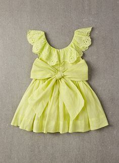 Nellystella Piper Dress in Lime Light - PRE-ORDER