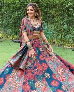 Simple Designer printed lehenga choli for bridal look.For order WhatsApp on draping styles dress for bride indian dresses indian teens wedding outfits sisters blouse designs indian with dress blouse designs dresses indian Indian Lehenga, Lehenga Choli, Sarees, Designer Bridal Lehenga, Mehndi Outfit, Sangeet Outfit, Indian Bridal Outfits, Indian Designer Outfits, Designer Dresses