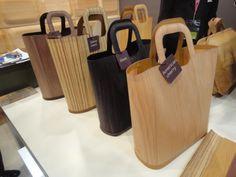 wood bags maison objet