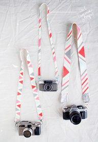 #DIY camera straps