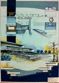 Concept Board Architecture, Architecture Drawing Plan, Architecture Presentation Board, Education Architecture, Modern Architecture, Presentation Board Design, Wooden Door Design, Conceptual Design, Sketch Design