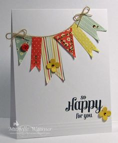Stop and Stamp the roses blog.  This uses #spellbinders pennant dies and a #waltzingmouse stamps sentiment