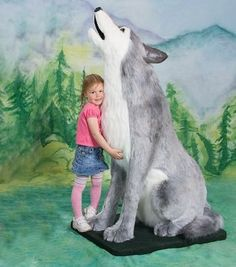 Beowulf is a plush stuffed Wolf from our Wild Animal Collection. Big Furry Friends offers Luxury Displays and Props. We offer lifelike, life size, realistic, giant, large big and small stuffed animals handmade by artisans from around the world. Wolf Stuffed Animal, Giant Stuffed Animals, Stuffed Animal Patterns, Stuffed Toys, Wolf Craft, Wolf Plush, Largest Wolf, Ocean Themed Nursery, Beowulf
