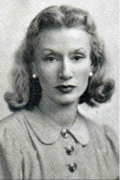 "Millicent Rogers.  The photograph is believed to be her passport photograph taken in 1947, the year Rogers moved permanently to Taos. ""Millicent Rogers is the last person who had any real influence on American taste,"" stated fashion designer Charles James. Courtesy Millicent Rogers Museum."
