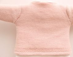 Wrap Cardigan Instructions in English PDF by LittleFrenchKnits