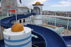 Children's Water Slide Eastern Caribbean Cruises, Jewel Of The Seas, Cruise Port, Water Slides, Barbados, Travel, San Juan, Antigua, Viajes