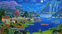 Edivaldo | Obras originais de arte naif brasileira