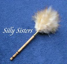Feather duster tutorial - THANKS Silly Sisters!