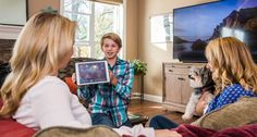 Imagine being able to access all of your movies, TV shows or music from anywhere in the house. No awkward wires or proprietary connections. And of course, whatever cable, satellite or DVR systems you want to watch are accessible where you want to watch them.