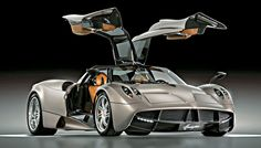 The Huayra is Pagani's U.S.-street-legal follow-up to the Zonda