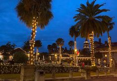 St. Augustine Florida Night of Lights