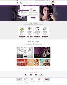 New eCommerce website for Baubles Babe! (www.baublesbabe.com) by Debarghya10