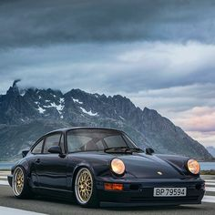 Porsche 964 on @bbs.wheelsE88  give us a call to get your BBS wheels  Repost fro