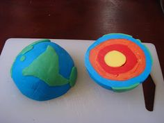 THE LEARNING ARK - Elementary Montessori : Layers of the Earth